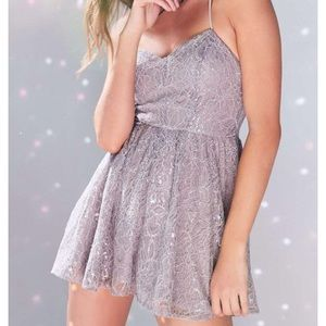 Urban Outfitters sparkle romper